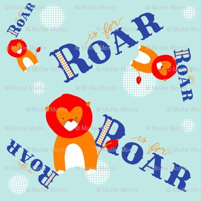 R is for Roar