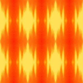 Feather Flame in orange