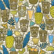Tiki Cups & Beachy Drinks - Yellow