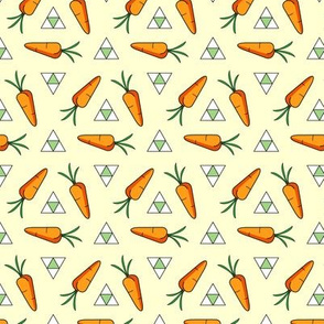 Spinning Carrots and Triangles