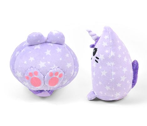 Cut & Sew Purple Unicorn Kitty Plush