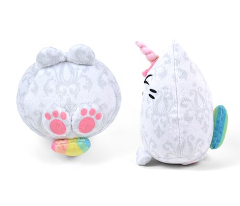 Cut & Sew Rainbow Unicorn Kitty Plush