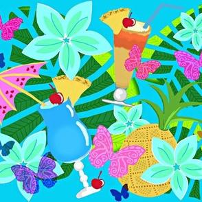 Hoʻonānea nanea - Relax enjoy!  /Blue Hawaii