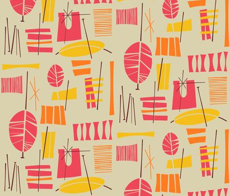 Acotango fabric by theaov on Spoonflower - custom fabric