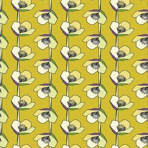 Chayler Floral Stripe Olive