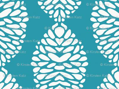 Deco Bloom Turquoise
