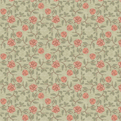 Old Fashioned Roses on textured ground