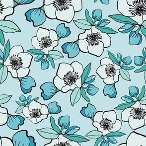 Lentern Rose Turquoise