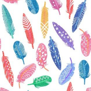 Feather Silhouttes