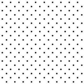 SouthWestern Small Dots B+W