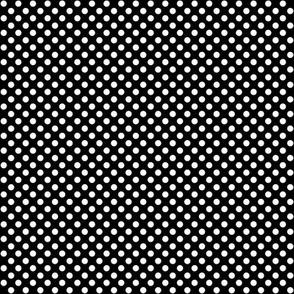 SouthWestern Small Dots W+B