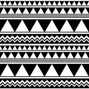 SouthWestern Geometric W+B