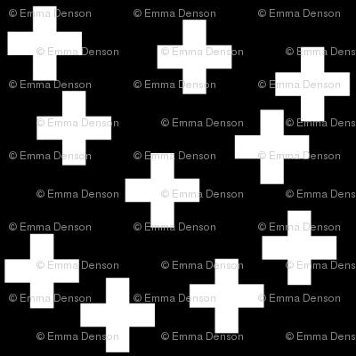 SouthWestern Crosses W+B
