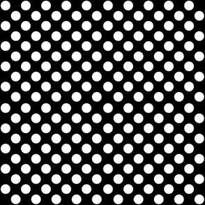 SouthWestern Large Dots W+B