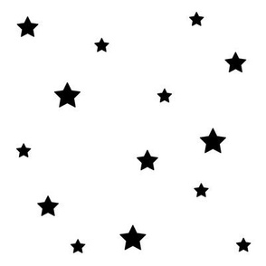 SouthWestern Stars B+W