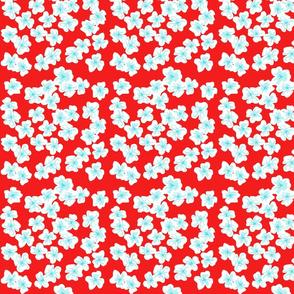 Wonderland Floral (red)
