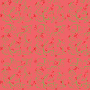 Isley's Vines (Red)