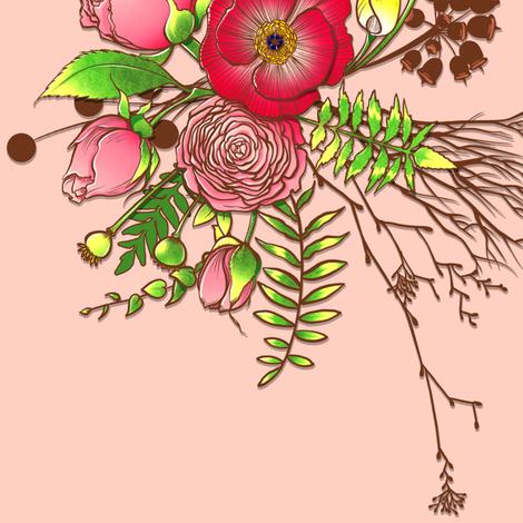 Floral Bundle fabric by jadegordon on Spoonflower - custom fabric