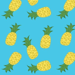 Cool Blue Pineapple