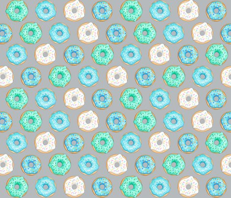 Iced_donuts_blue_on_light_grey_150_hazel_fisher_creations_shop_preview