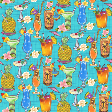 Harry_Yee_s_Hawaii fabric by julistyle on Spoonflower - custom fabric