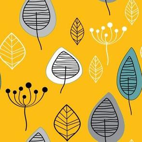 Nature on mustard