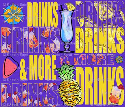 Hawaiian_Drinks_Motif-2