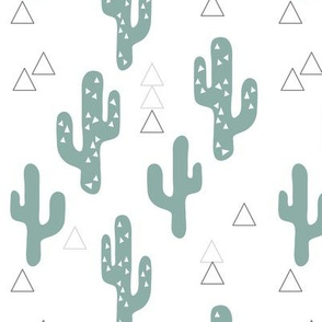 Cactus with triangles