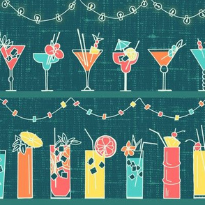 Tropical Hawaiian Cocktail Party