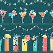 Tropical Hawaiian Cocktail Party