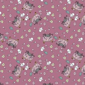 Teatime Spider - Pink
