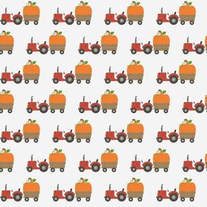 Tractor Pumpkin Pull