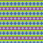 Colorful Triangles Symetrical