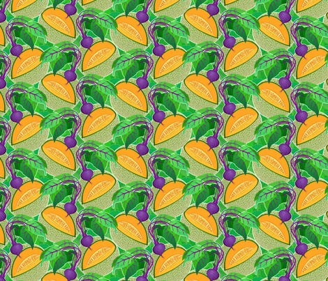 beetmelon fabric by hannafate on Spoonflower - custom fabric
