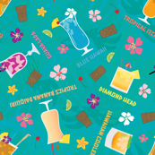 Hilton Hawaiian Village Tropical Mixed Drinks Toss