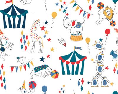 All the Fun of the Circus retro