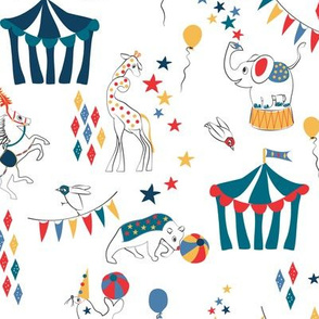 All the Fun of the Circus retro