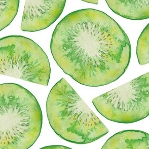 Watercolour Kiwi Fruit