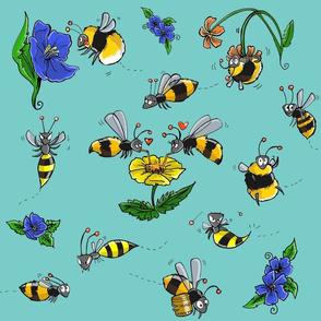 Bombus-bee