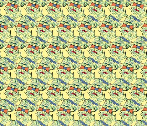 The Little Prince | Stars, Elephant & Airplane | EST-PRINCIPITO-PI09 fabric by vivicheruti on Spoonflower - custom fabric