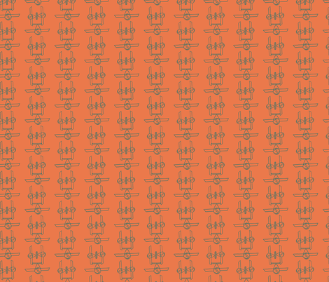 The Little Prince | Airplane | EST-PRINCIPITO-PI15 fabric by vivicheruti on Spoonflower - custom fabric