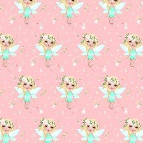 "1.7"" Floral Fairy / Mix & Match with Flowers"