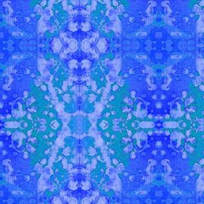 blessed batik blue
