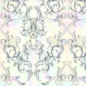 BACKYARD DAMASK_Pastel