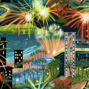Hawaiian Fireworks