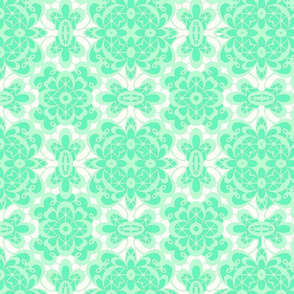 old lace mint mint