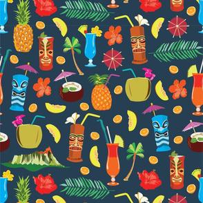 Hawaii exotic tropical drinks!