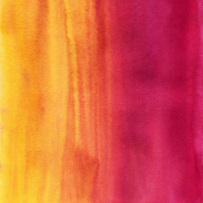 Watercolor Wash Yellow Magenta