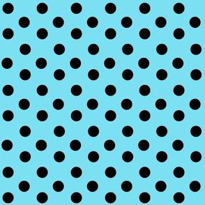Swirly Penguin Polka-dots