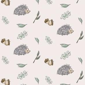 Hedgehog Snuggles -Pink